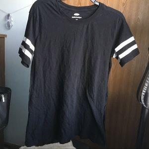 old navy black tunic